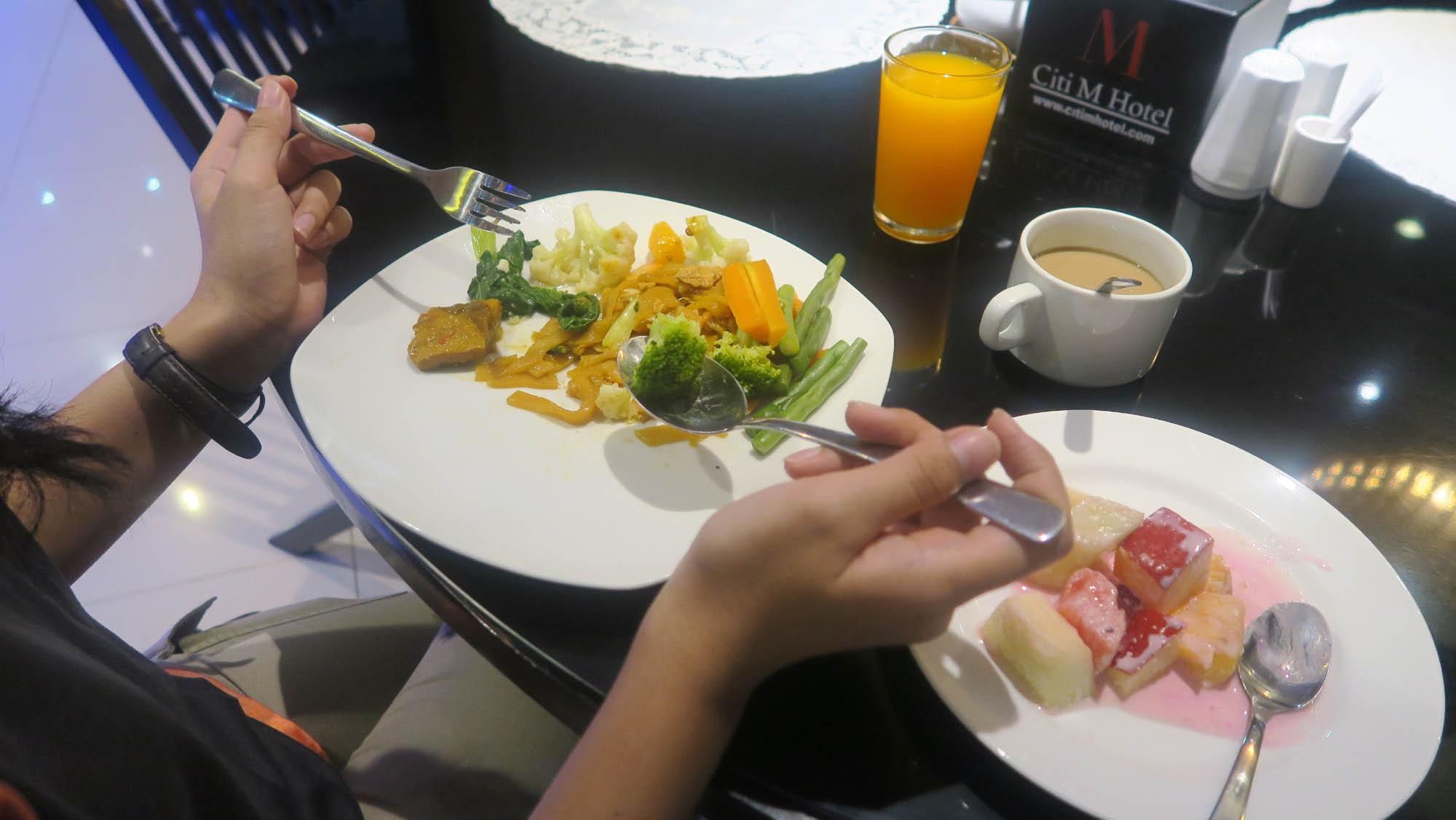 Breakfast at Citi Monas Hotel Tanah Abang - Jakarta