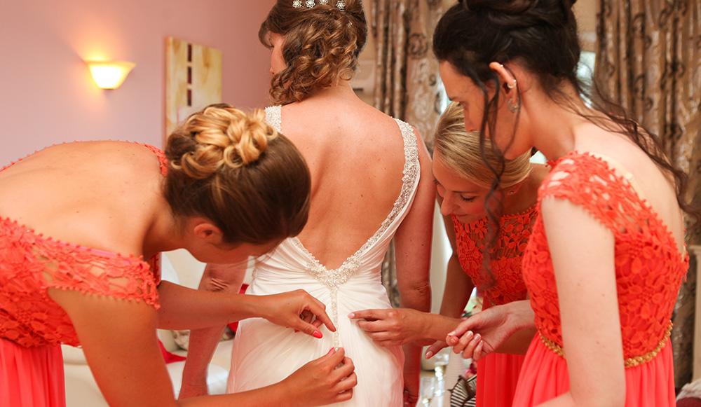 Mempelai Wanita di acara pernikahan bersama Citi M Hotel Jakarta