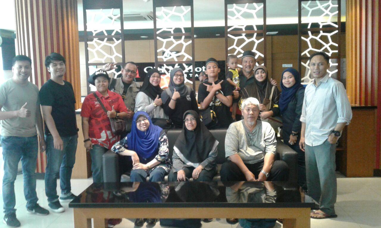 Rombongan dari negara Malaysia