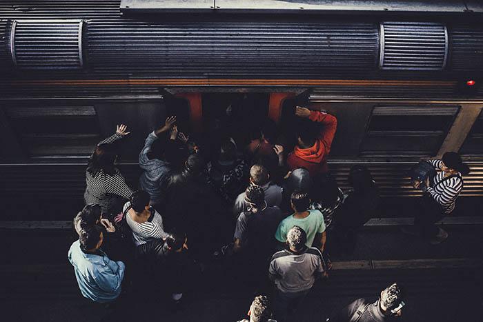 Travel using train from Jakarta to Bandung