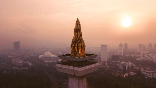 Monumen Nasional di Jakarta
