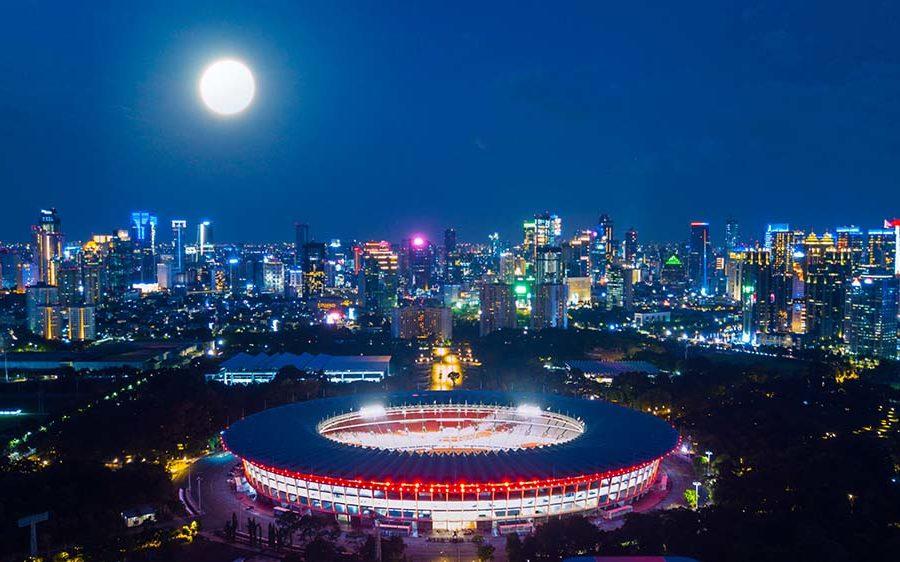 Area Stadium GBK Senayan - Jakarta